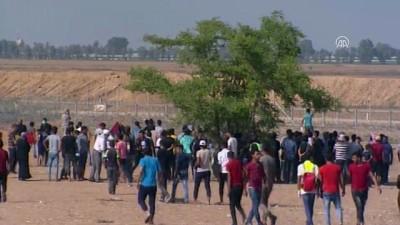 Gazze'de 'Büyük Dönüş Yürüyüşü' gösterileri devam ediyor - (1) HAN YUNUS
