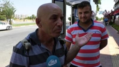 Halk otobüsü beklerken bulduğu parayı polise teslim etti
