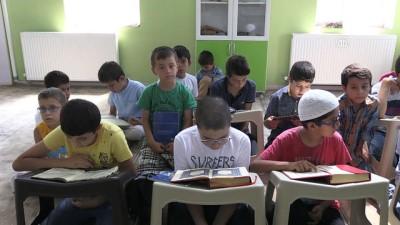 beraberlik - Hem masa tenisi oynuyorlar hem de Kur'an-ı Kerim öğreniyorlar - ADIYAMAN