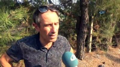 sili -  İzmir'deki orman yangınını söndürme çalışmaları sürüyor