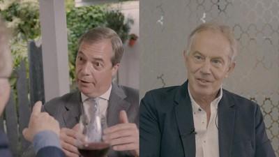 Kızıl Dany, Farage ve Blair tartıştı: Ne olacak bu AB ve İngilizlerin sonu? - VİDEO
