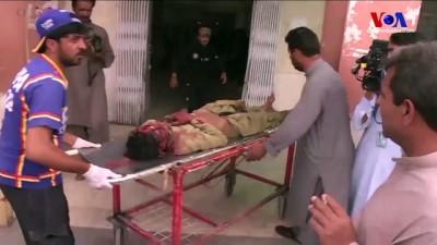 Pakistan'da Seçim Mitinginde İntihar Saldırısı