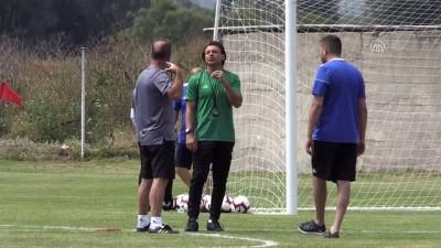 Sivasspor kamp çalışmalarını sürdürüyor - BOLU