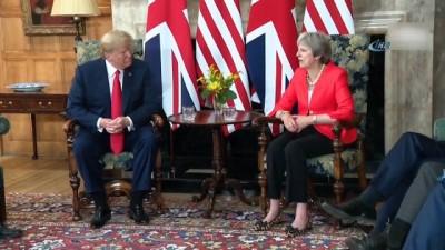 - Trump, İngiltere Başbakanı May İle Görüştü