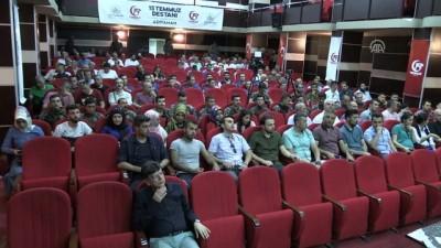 konferans - Adıyaman'da '15 Temmuz Demokrasi Zaferi' konferansı