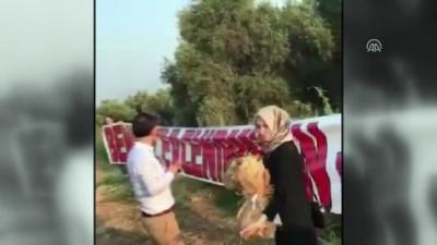 Balon turuna davet etti sürpriz evlilik teklifi yaptı - DENİZLİ