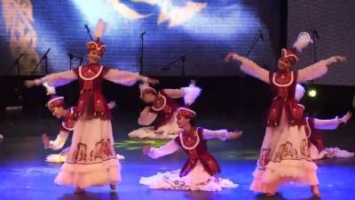 Dansçılar Bursa'dan dünyaya barış mesajı verdi
