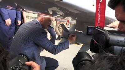 terorle mucadele - İçişleri Bakanı Soylu, VAN Jandarma Taktik İHA Birlik Komutanlığında incelemelerde bulundu - VAN