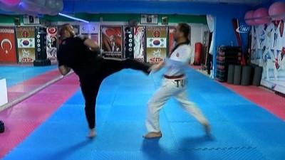 Kolları olmadan taekwondo şampiyonu oldu