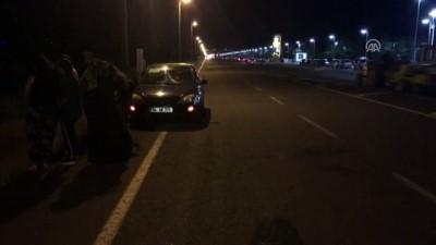 Otomobilin çarptığı köpek yavrusu tedavi altına alındı - ERZURUM
