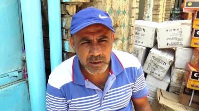 'Şiddet yorgunu Bağdat'ta at arabalarıyla taşımacılık sürüyor' - BAĞDAT
