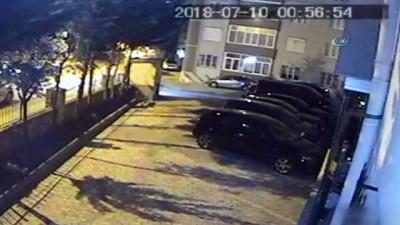 Tacize uğrayan genç kızın ağabeyine keserli saldırı kamerada