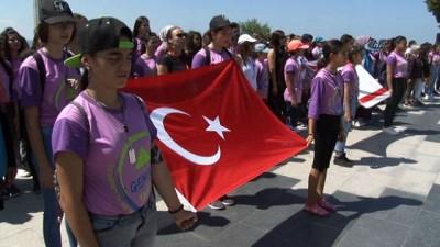 15 Temmuz Demokrasi ve Milli Birlik Günü dolayısıyla Şehitler Abidesi'nde tören düzenlendi