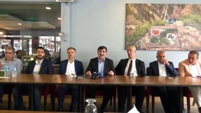 """AK Partili Yılmaz:""""Bunlar millet düşmanı, milli irade düşmanı ve dış odakların maşası yapılanmalar"""""""