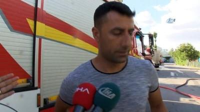 saglik ekibi -  Başkent'te fabrikada korkutan yangın