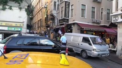 Beyoğlu'nda otelde şüpheli ölüm - İSTANBUL