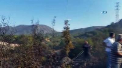 Eğirdir'de orman yangını