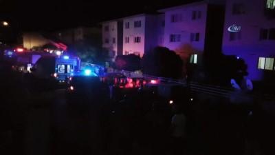 Patlama sesi mahalleyi sokağa döktü