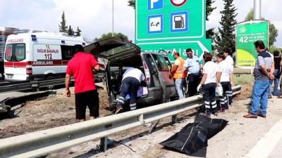 korkuluk - Trafik kazası: 3 ölü, 6 yaralı - ADANA