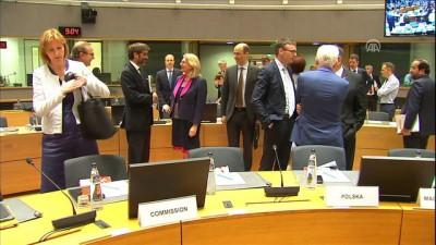 AB Dışişleri Konseyi toplandı - BRÜKSEL