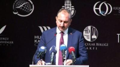 Adalet Bakanı Abdulhamit Gül : '2 bin 382 sanığa ağırlaştırılmış müebbetten süreli hapis cezasına kadar değişen tür ve ağırlıkta ceza verilmiştir'