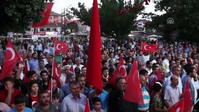 Çubuk'ta 15 Temmuz Demokrasi ve Milli Birlik Günü - ANKARA