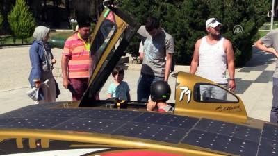 Geleceğin otomobili 'BOW İSTKA' Çanakkale'de