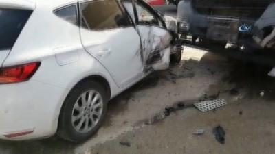 Gölbaşı'nda kaza: 4 yaralı