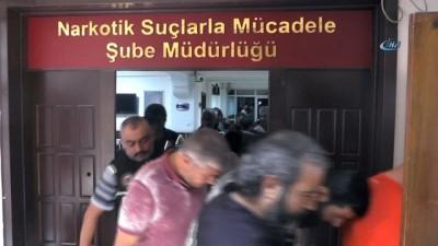 'Kalkan' operasyonunda gözaltına alınan 84 kişi adliyeye sevk edildi