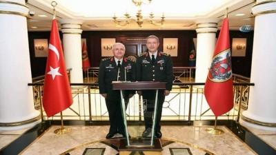Milli Savunma Bakanı Hulusi Akar, Genelkurmay Başkanlığı görevini Orgeneral Yaşar Güler'e devretti