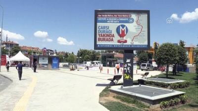 Sürücüsüz metronun test sürüşleri devam ediyor - İSTANBUL