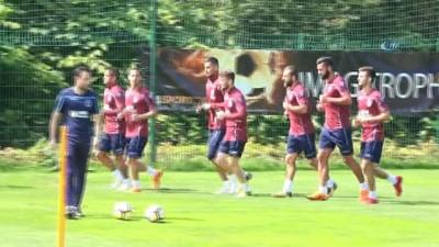 Trabzonspor'da Sosa, takımla çalışmalara başladı