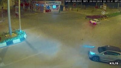 Trafik kazaları MOBESE kameralarında - GAZİANTEP