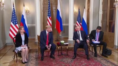 Trump-Putin görüşmesi - Detaylar - HELSİNKİ
