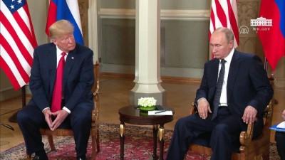 Trump-Putin görüşmesi - HELSİNKİ