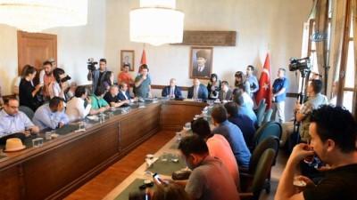 Uluslararası medya temsilcileri, Kastamonu'ya geldi