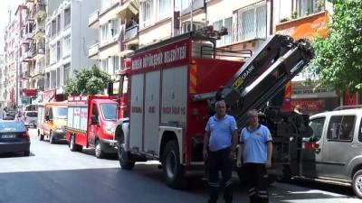 polis - 2 katlı metruk bina çöktü (3) - MERSİN