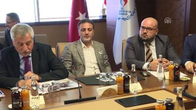 """toplanti - """"6222 Sayılı Sporda Şiddet ve Düzensizliğin Önlenmesi"""" yasasına ilişkin istişare toplantısı - ANKARA"""