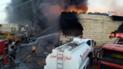 - Afrin Cinderes Kasabası yanıyor