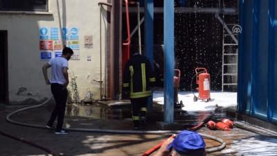 Atık yağ fabrikasinda yangın - KIRKLARELİ
