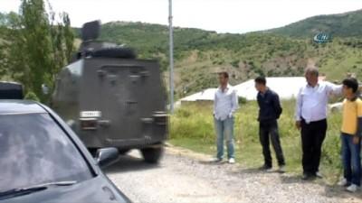 Gümüşhane kırsalında PKK'lı grup ile sıcak temas sağlandı