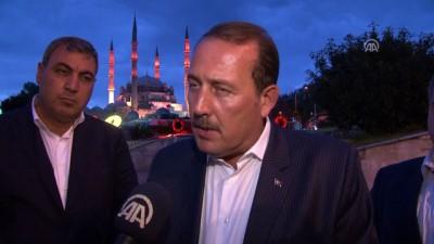 Karacan: 'Halkımız 15 Temmuz'da demokrasiden üstün bir şey olmayacağını dünyaya gösterdi' - EDİRNE