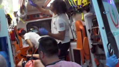 Karayolundaki elektrikli bisiklet gezisi hastanede bitti