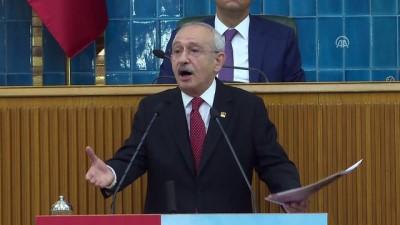 toplanti - Kılıçdaroğlu: 'İşçi kardeşlerime söyleyeyim. Senin hakkını savunmak için meclise o bakan hiç gelmeyecek' - TBMM