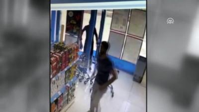 cep telefonu - Şanlıurfa'da markette yaşanan hırsızlık kameraya yansıdı