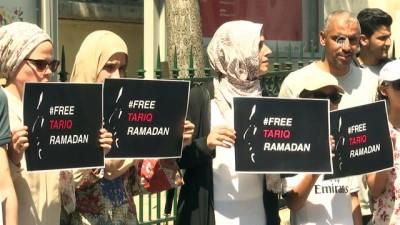 Tarık Ramazan'ın yargı sürecine ilişkin eylem - İSTANBUL