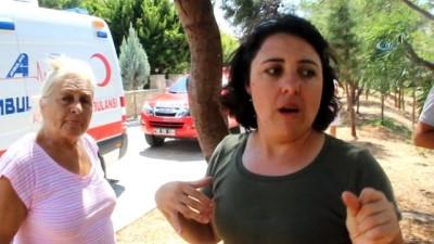 polis -  Tüm mahalleyi alevler sardı, vatandaşlar şok oldu