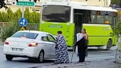Tuzla'da şaşkına çeviren dolandırıcılık yöntemi kamerada