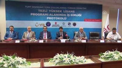 Yurt dışındaki Türk çocukları için Türkçe öğretmenleri yetişecek - ANKARA
