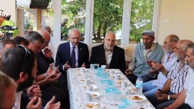 CHP Genel Başkanı Kılıçdaroğlu'ndan ziyaretler - TEKİRDAĞ